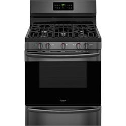 BlkStainless,Sealed 5 Burners,4.2 cu.ft,self clean FGGF3036TD Image