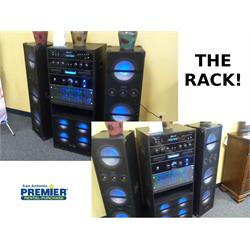 "3500w Bluetooth Rack system 2 10"" speakers THE RACK Image"