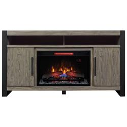 "26"" Spanish Gray Media Console w/ Fireplace 26MMA6031-I614 Image"